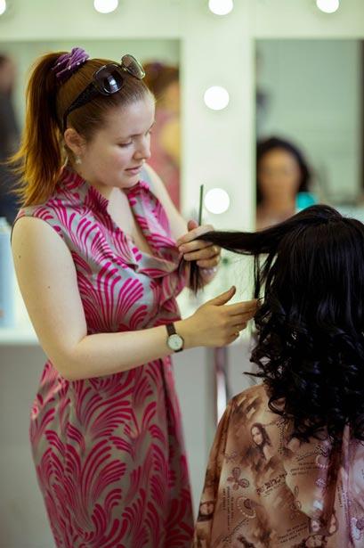 Укладка волос на себе учебный курс