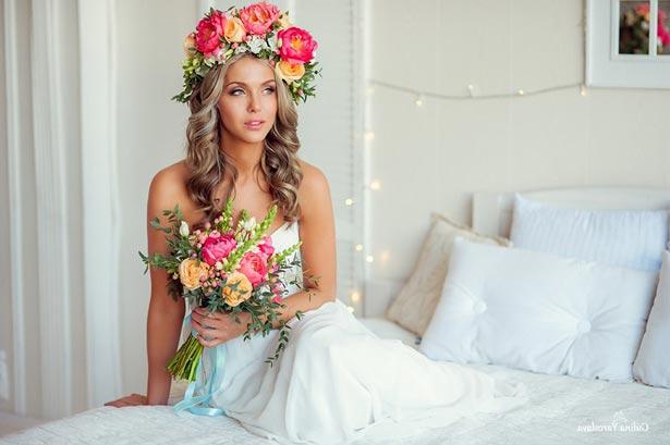 Создание образа невесты на занятиях в учебном центре