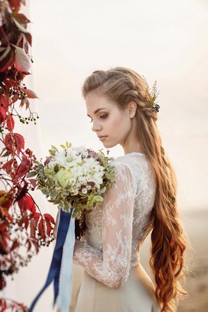 Укладка невесты на свадьбу уроки