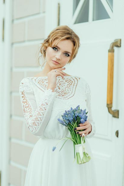 Свадебный макияжа СПб