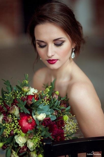 Макияж на свадьбу в СПб