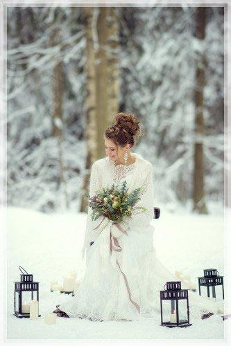 Свадебная прическа в СПб