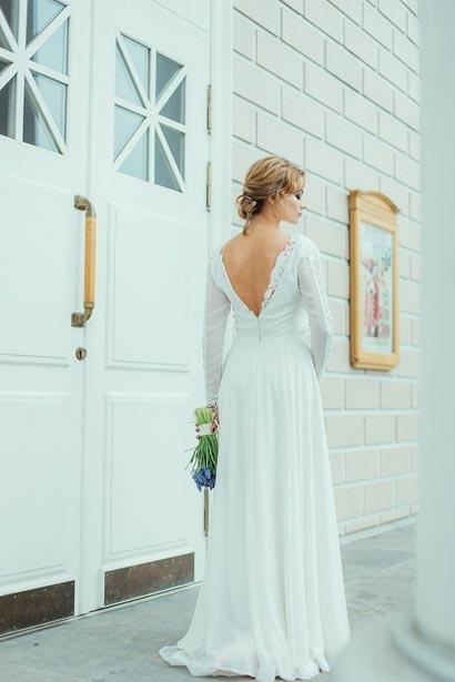 Прическа на свадьбу СПб